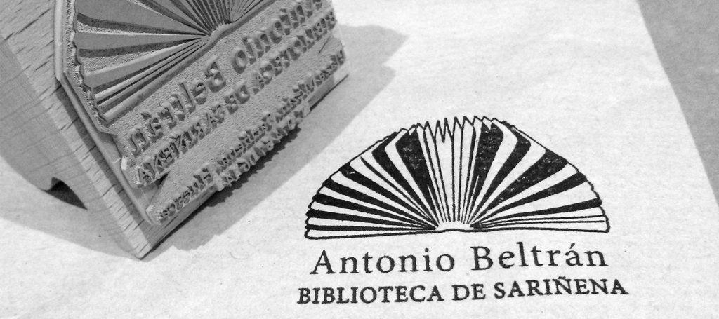 sello nueva imagen corporativa biblioteca municipal