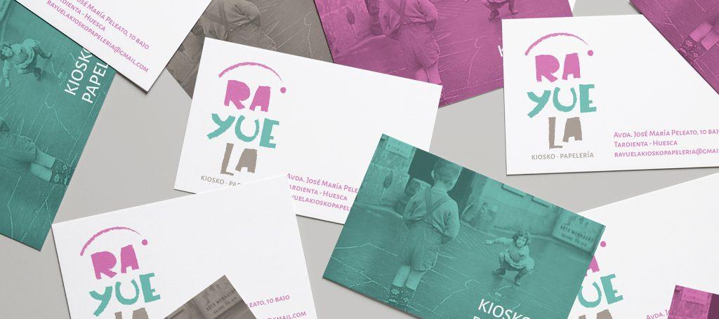 diseño tarjetas de visita para nueva imagen de marca